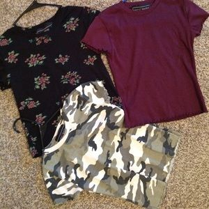 3 super cute tops in excellent condition